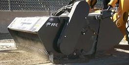 Rental Power Rake Preparator