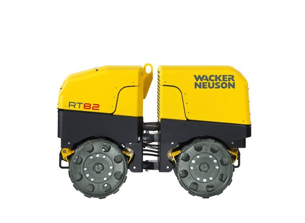 Articulated Trench Roller